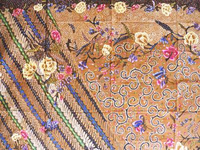 Batik Jawa Hokokai Pekalongan Tulis
