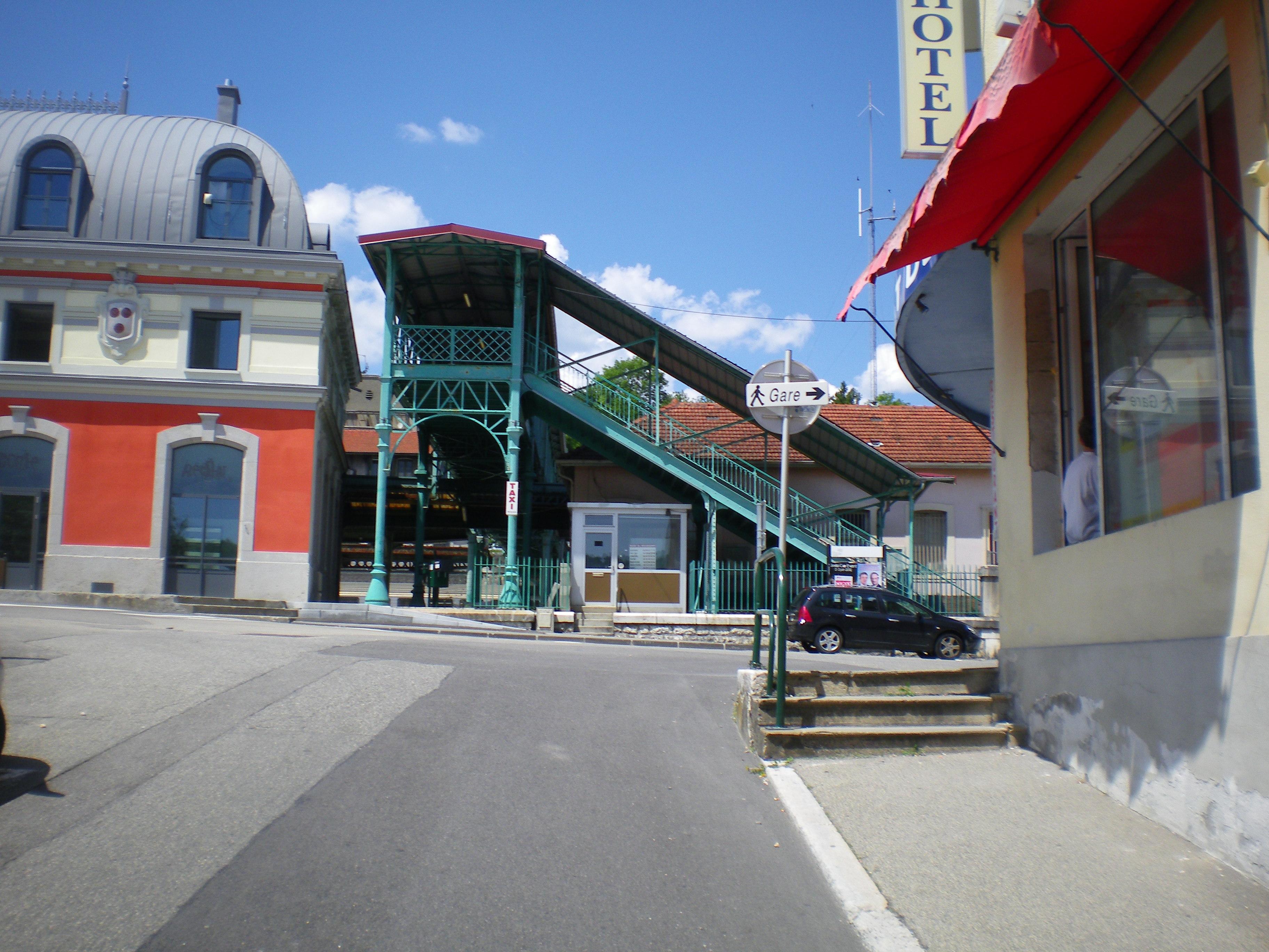 Hotel Bellegarde Sur Valserine Gare
