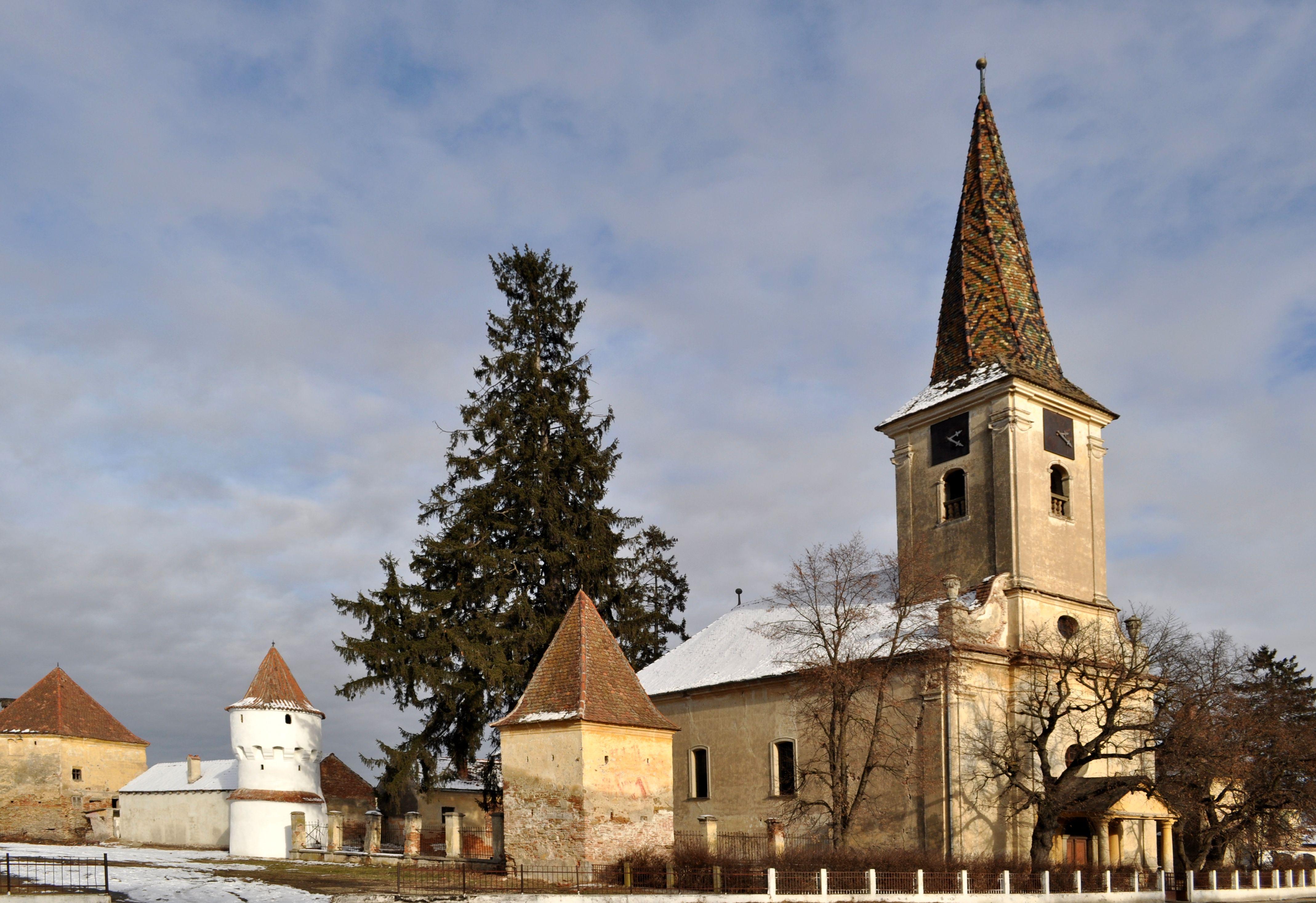 Biserica fortificată din Nocrich