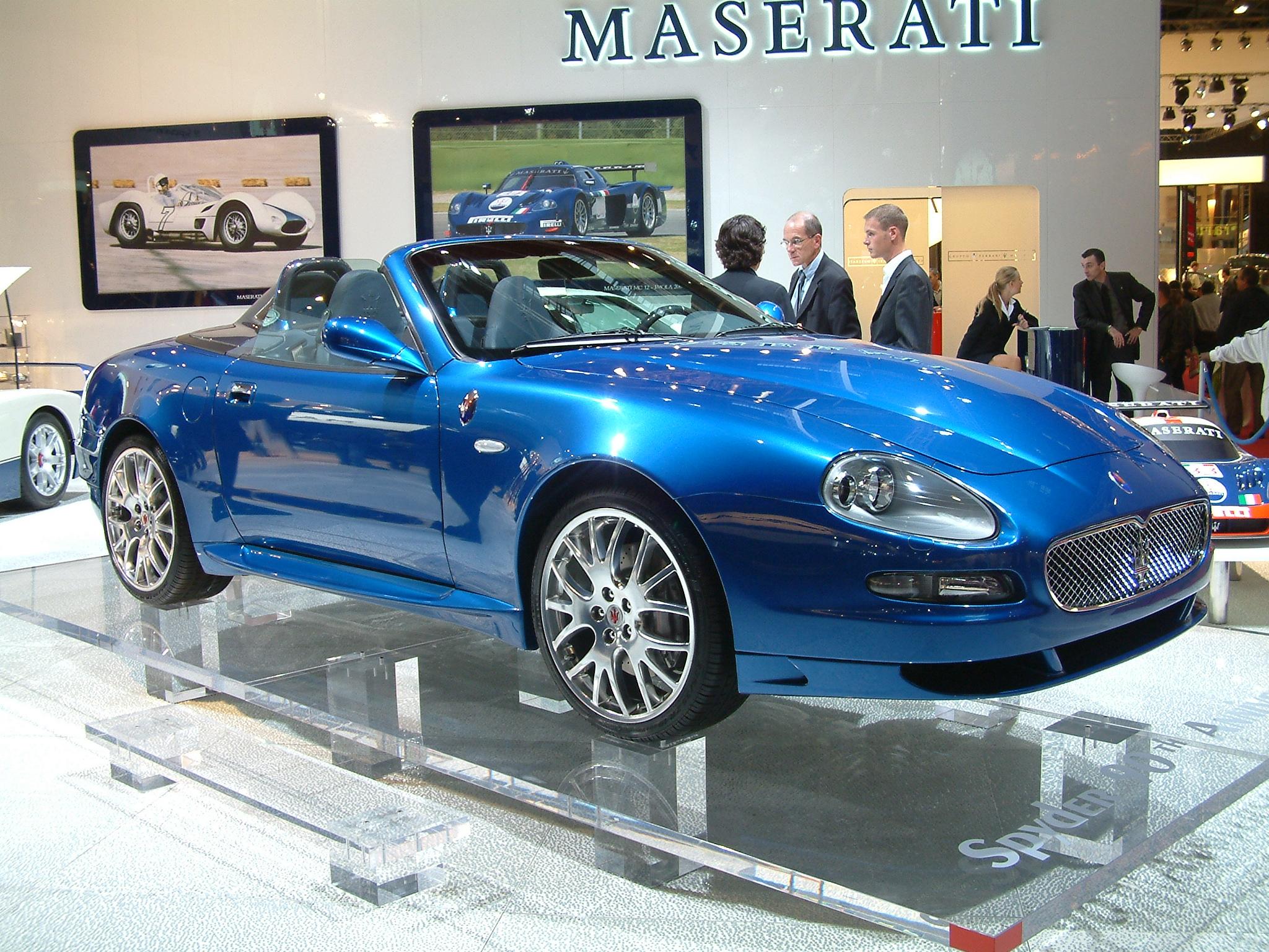ファイル blue 2004 maserati spyder 90th anniversary jpg wikipedia