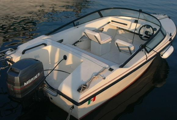 How do I start an Evinrude Lark boat motor without a battery