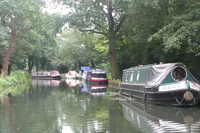 Boats on the Wey - geograph.org.uk - 949152