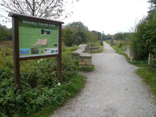 Brierley Forest Park - Footpath - geograph.org.uk - 573776