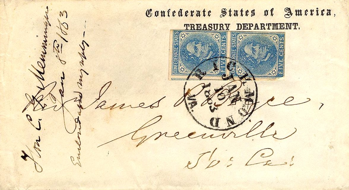 postage stamps and postal history of the confederate states wikipedia