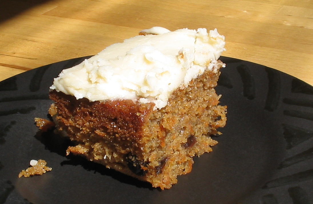 Carrot Cake With Baby Food