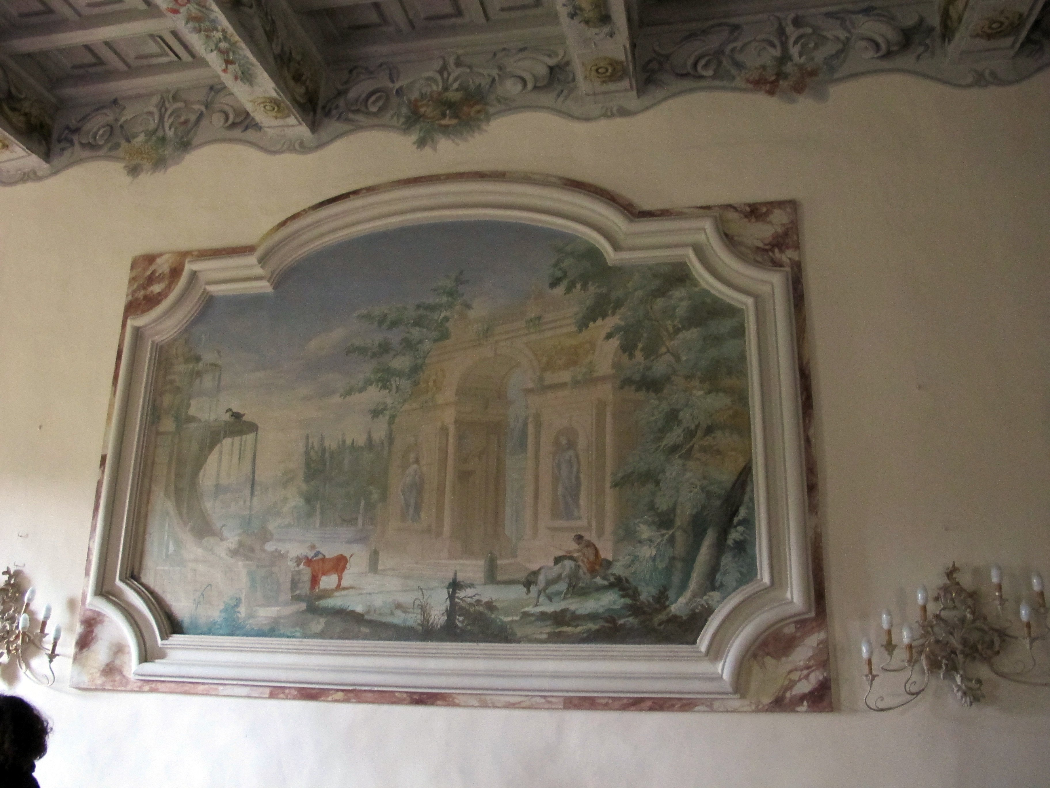 File Castello Di Meleto Interno Sala 09 Jpg Wikimedia