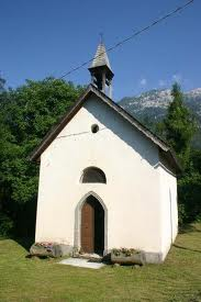 The little church of Our Lady of Caravaggio