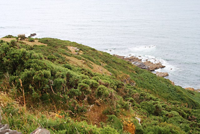 Cliffside near Gara Point - geograph.org.uk - 1390622