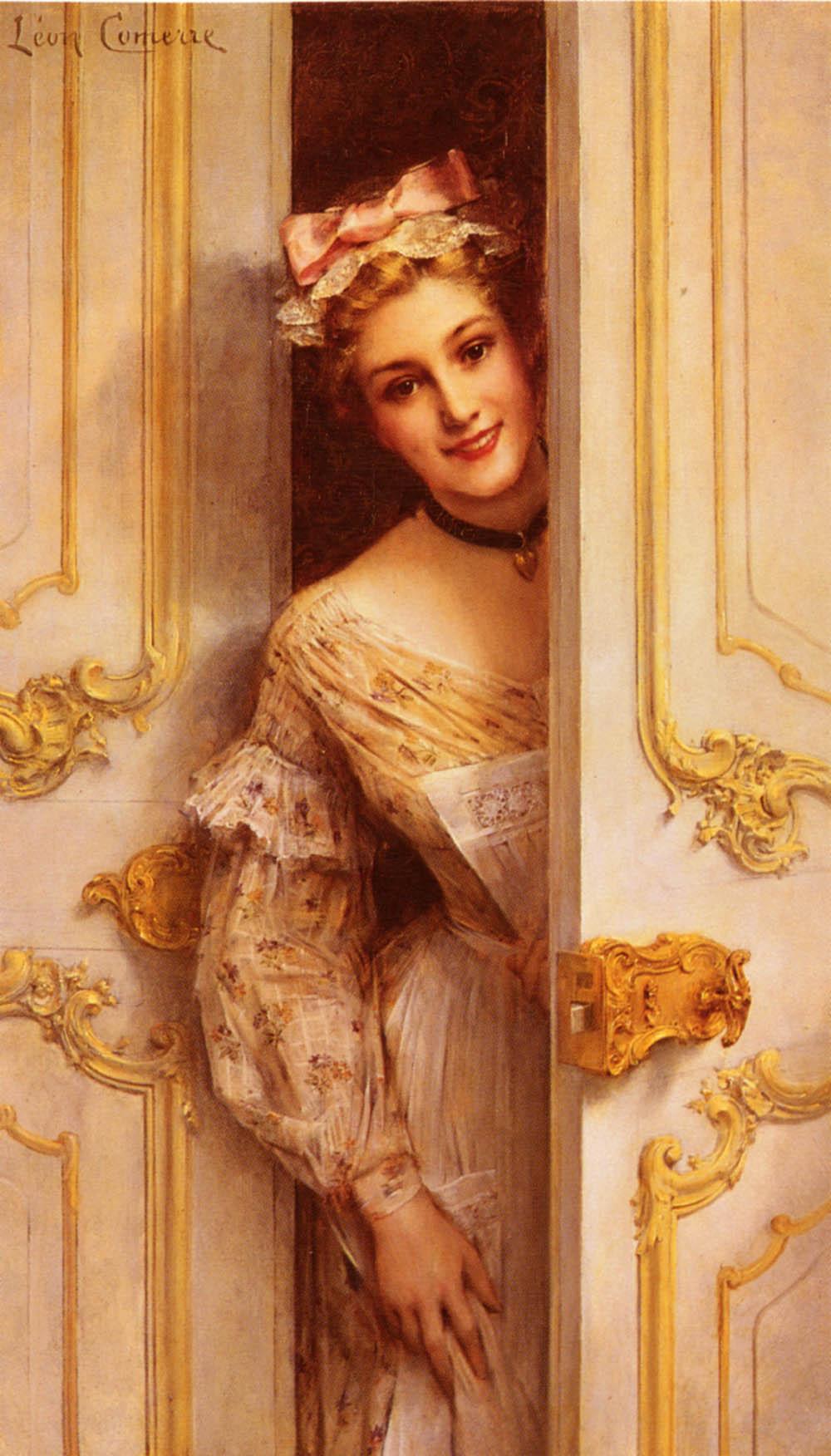 LES TRESORS DE LEON- FRANCOIS COMERRE  Comerre,_Leon_Francois%3B_The_Pretty_Maid