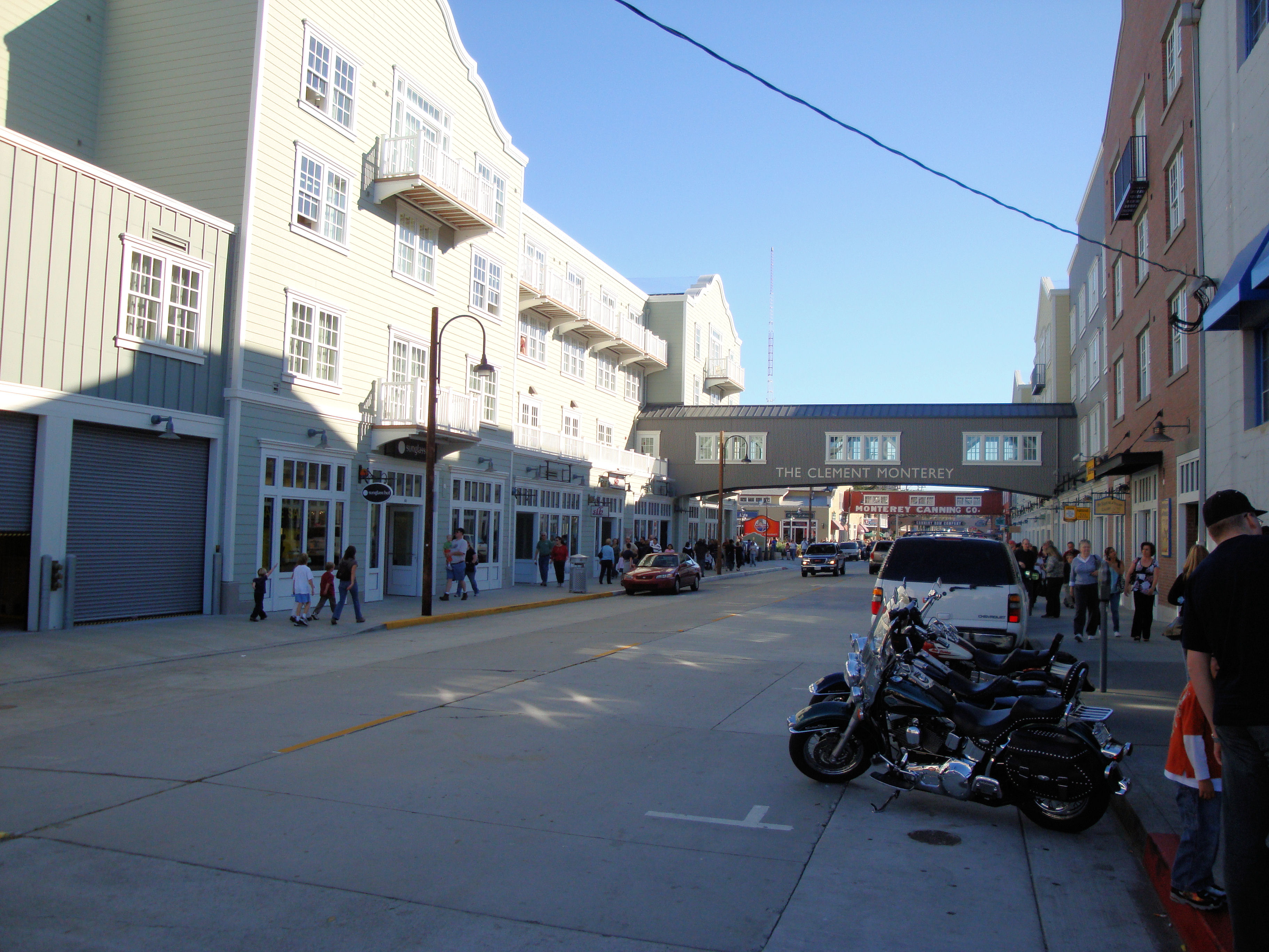 Cannery Row Monterey Car Show