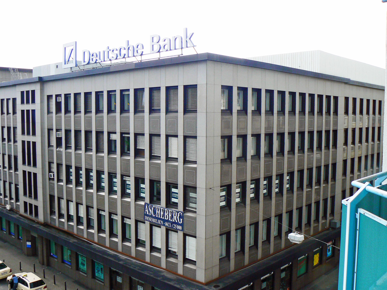 Deutsche Bank Mannheim Address