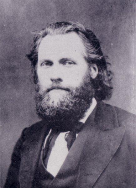 Ferdinand Domela Nieuwenhuis (ca. 1875)
