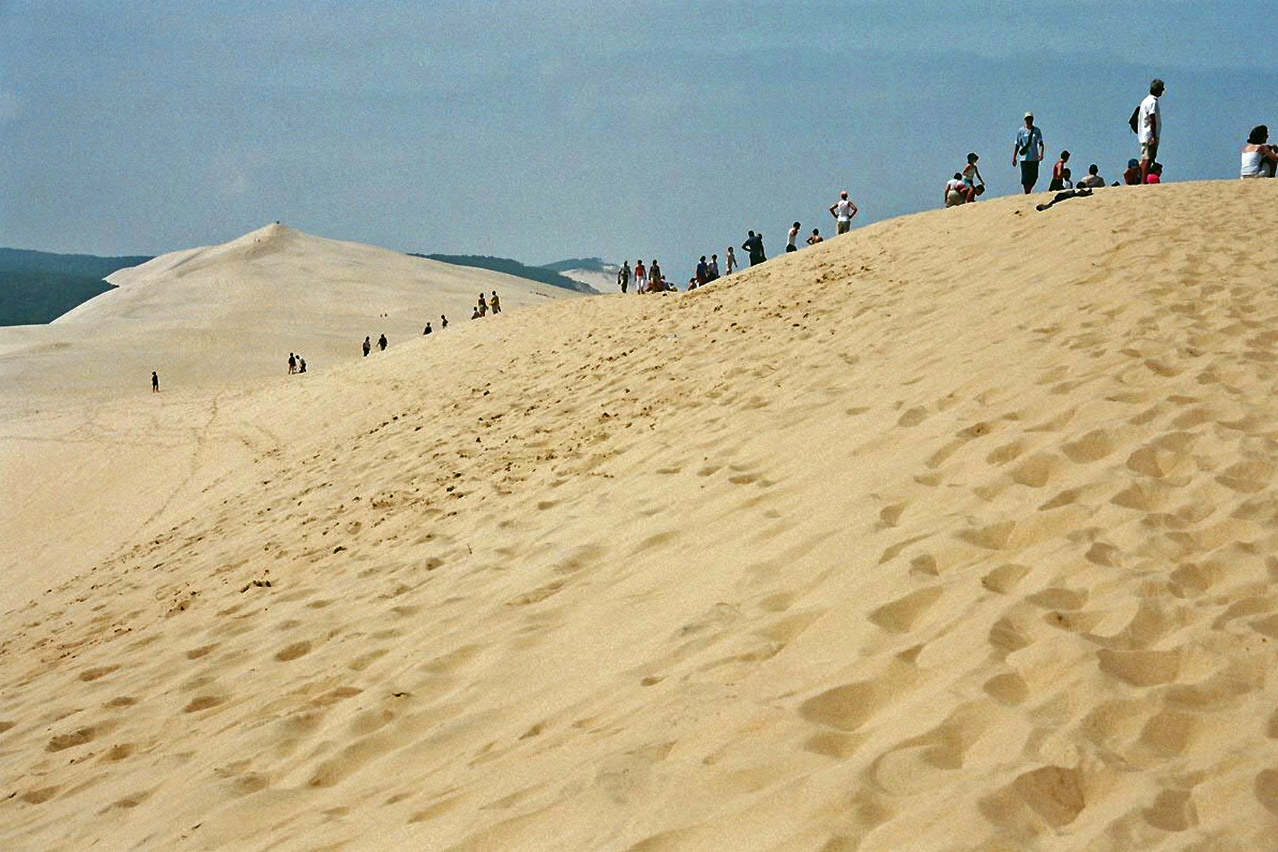 La dune du pilat h tel restaurant la caravelle - Restaurant dune du pilat ...