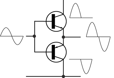Electronic Amplifier Push-pull.png