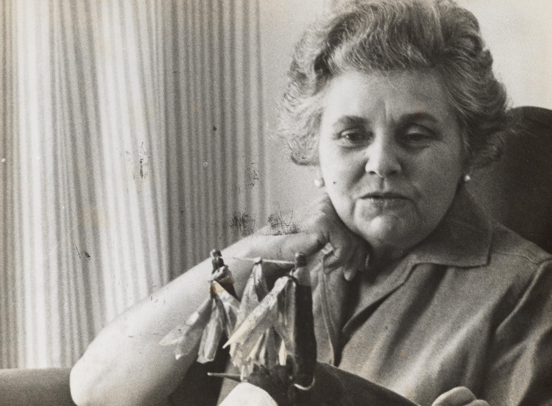Elizabeth Bishop, en Brasil, 1964.