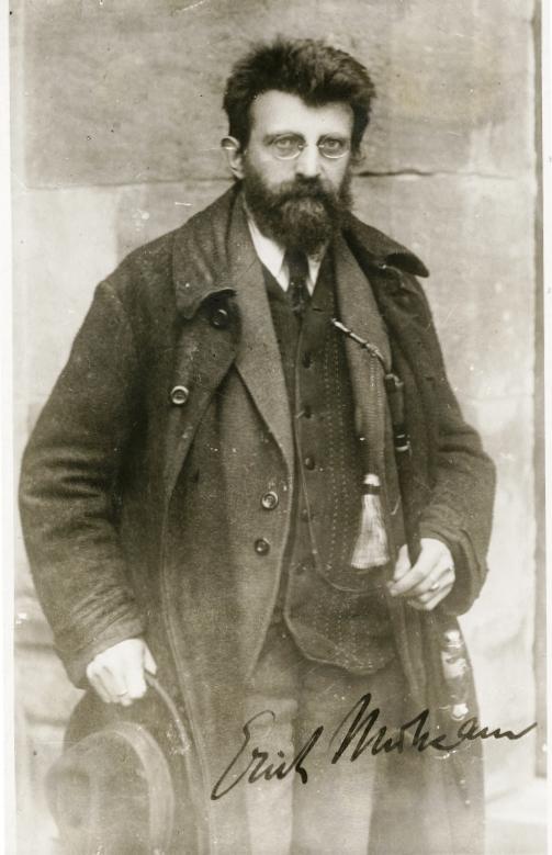Erich Mühsam 1919 - Quelle: WikiCommons