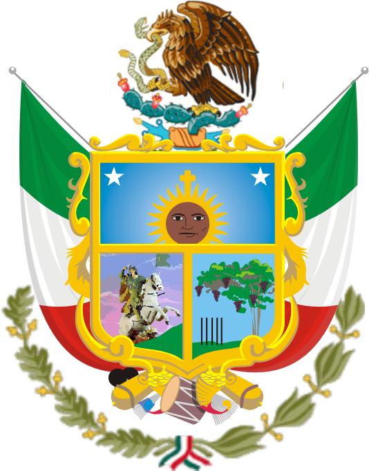 Escudo de Armas del Escudo del Estado Libre y Soberano de Querétaro Arteaga,