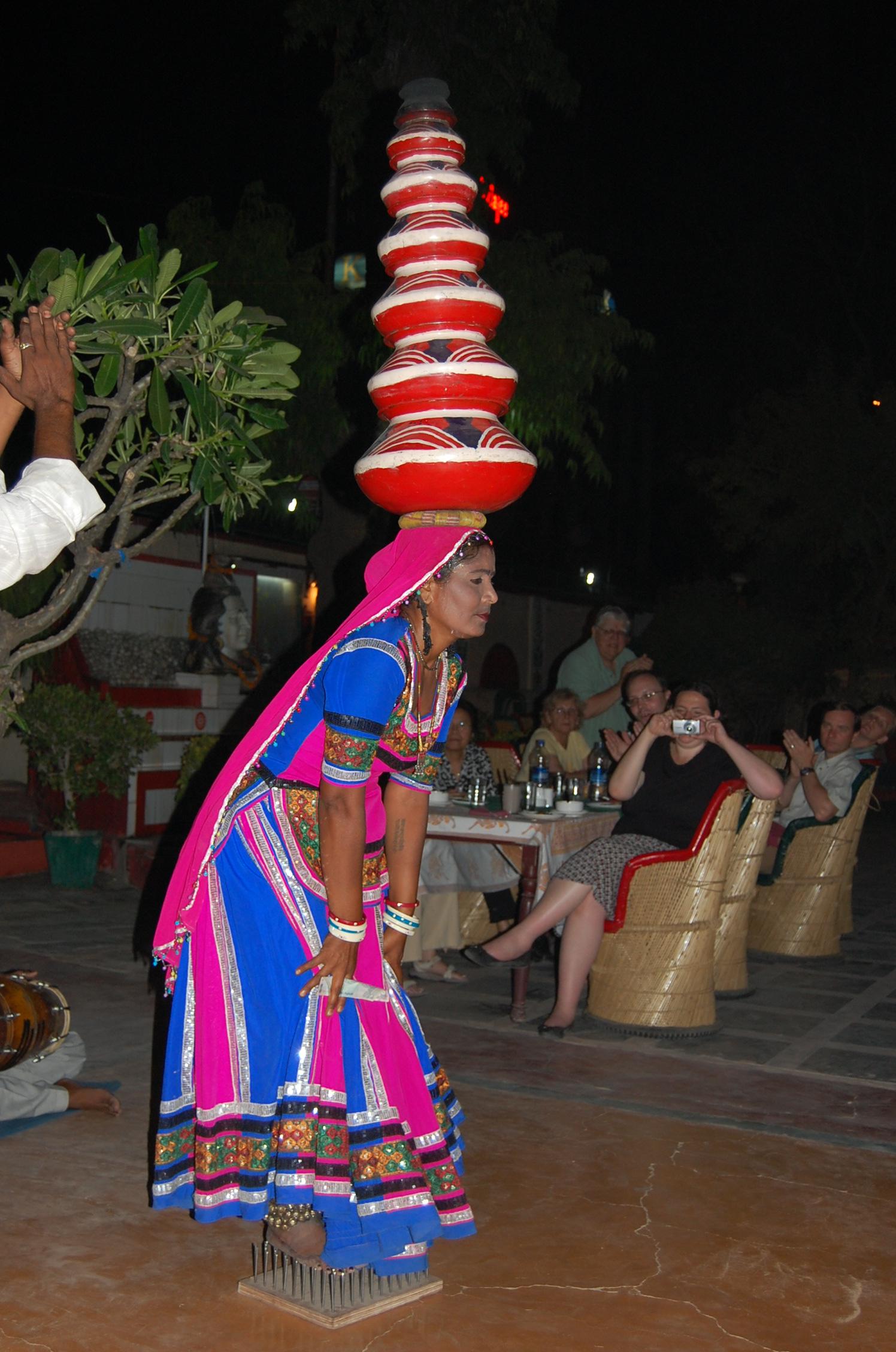 fileethnic folk dance dinner show restaurant in jaipur