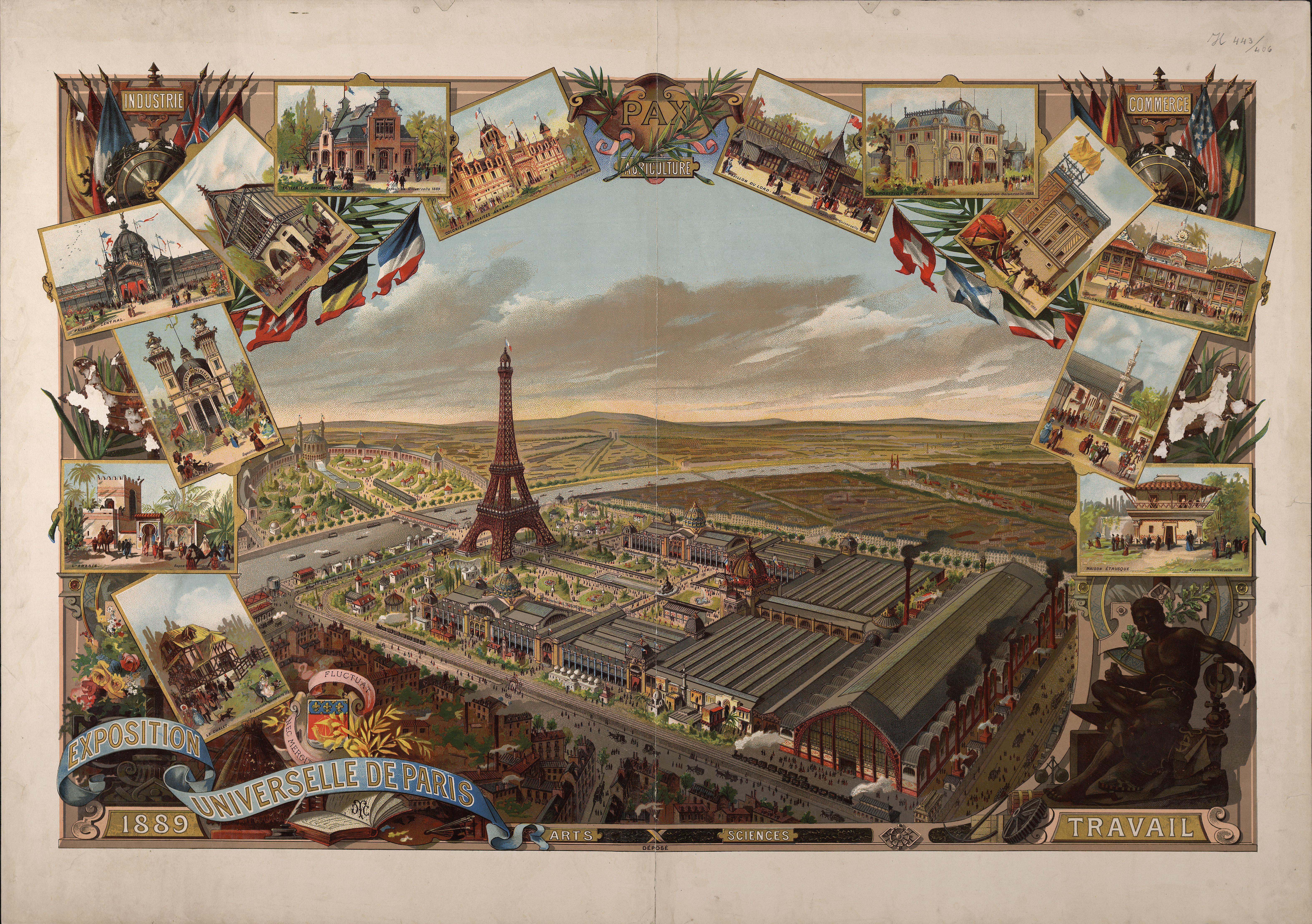 Exposition Universelle De Paris De 1889 Wikipedia