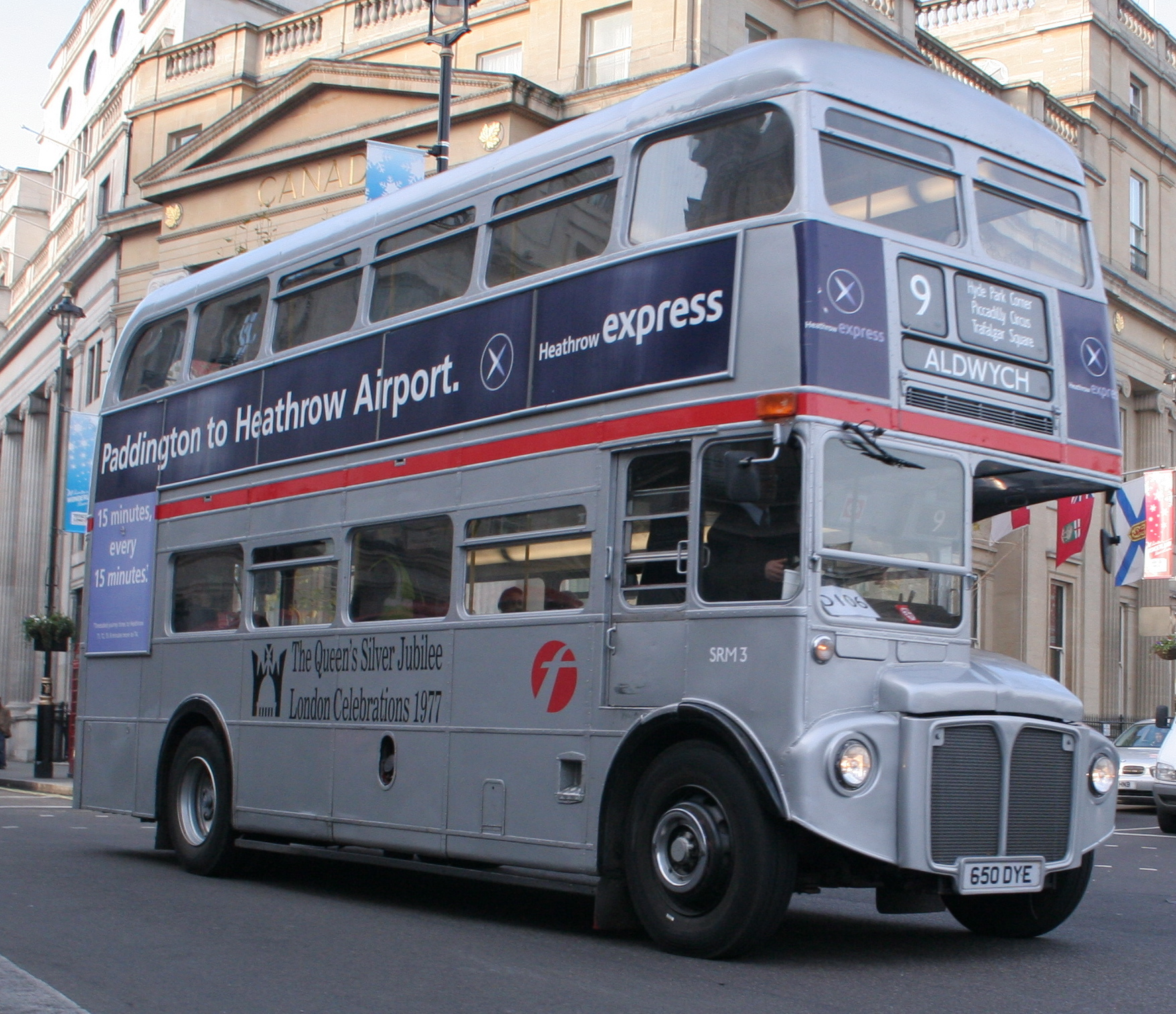 File:First London Silver Jubilee Routemaster SRM3 (RM1650