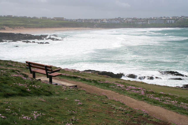 Fistral Beach from Towan Head - geograph.org.uk - 433744