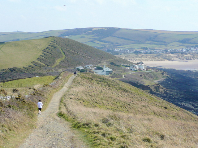 Footpath from Baggy Point - geograph.org.uk - 1758207