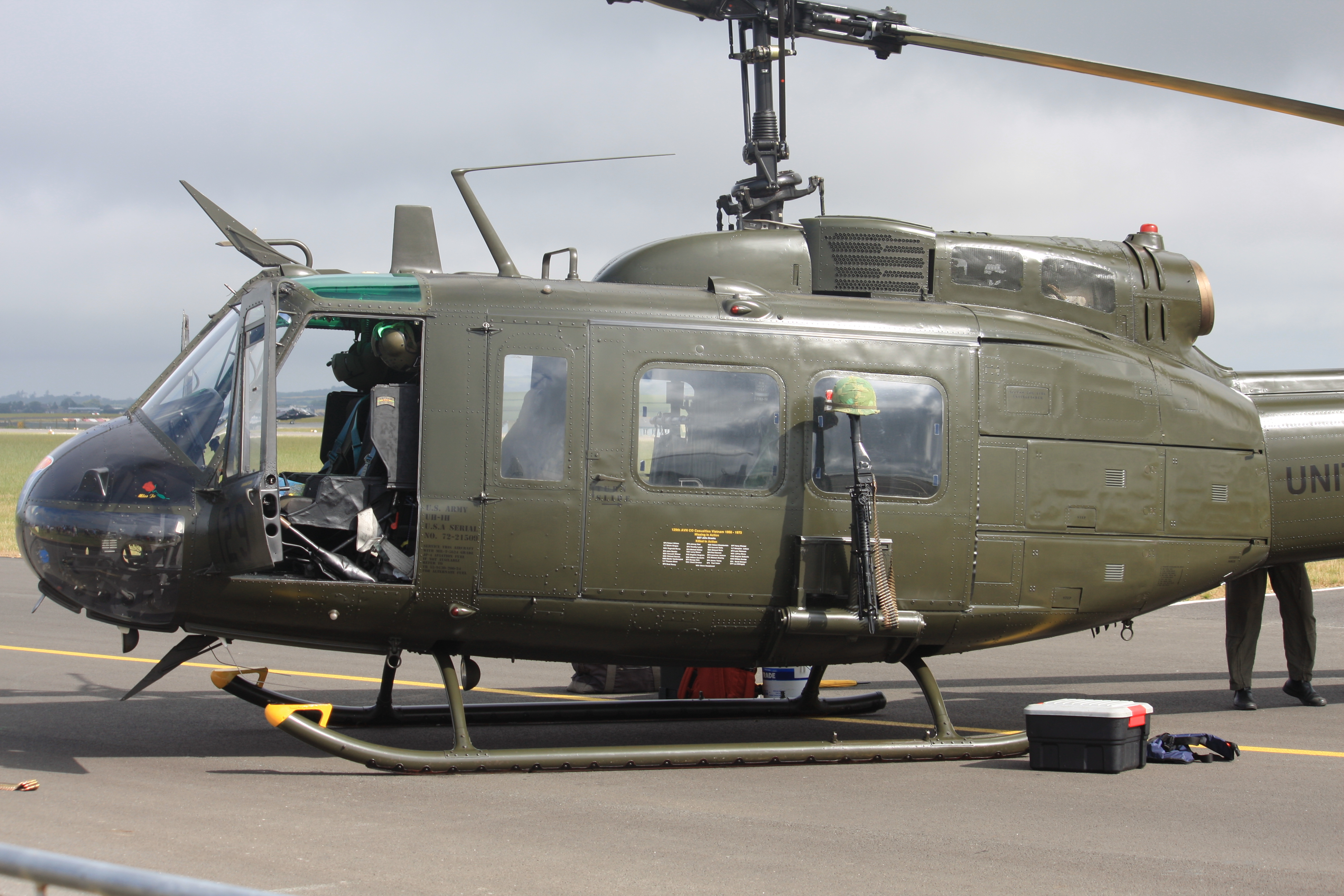 bell 205 helicopter for sale with File G Uhih   72 21509 129 Bell Uh 1h Iroquois  205   Cn 13208  Us Army   9436432746 on Bell212 usa likewise Bell 205 besides List of utility helicopters furthermore 4974 Bell Uh 1h Huey Dragon in addition H h1nam.