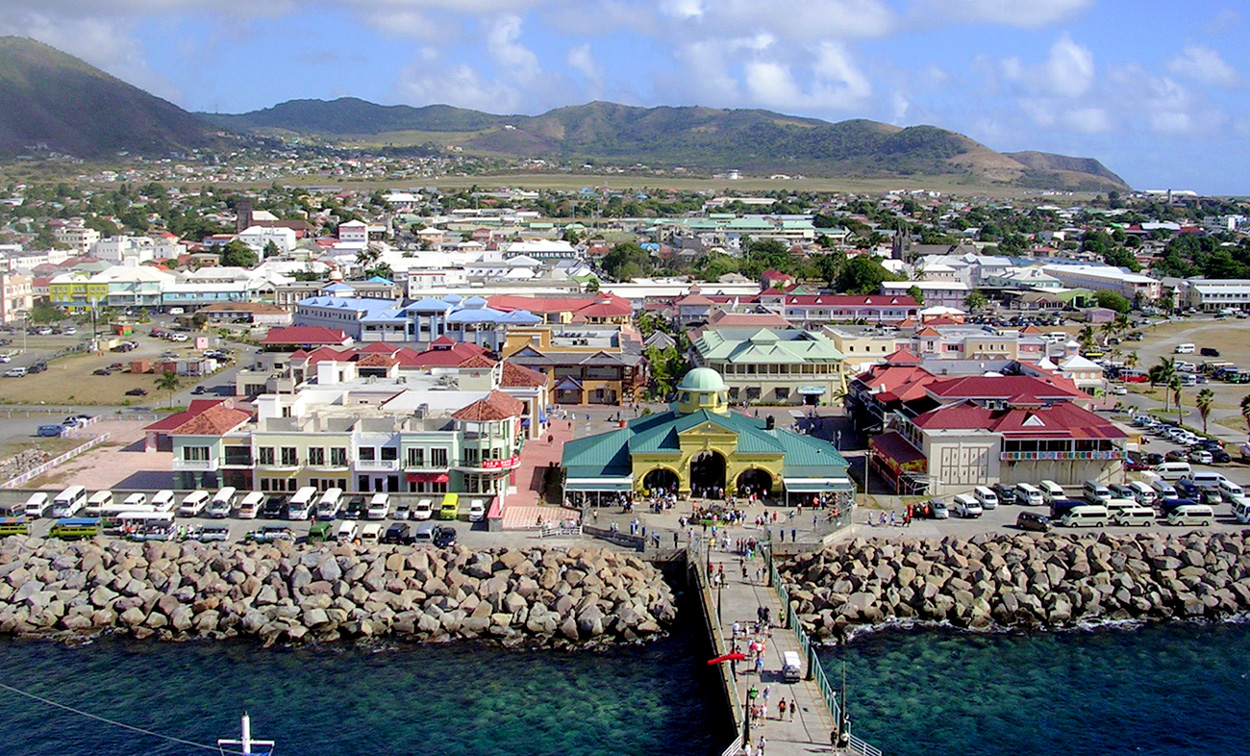 St Kitts Beaches From Cruise Port
