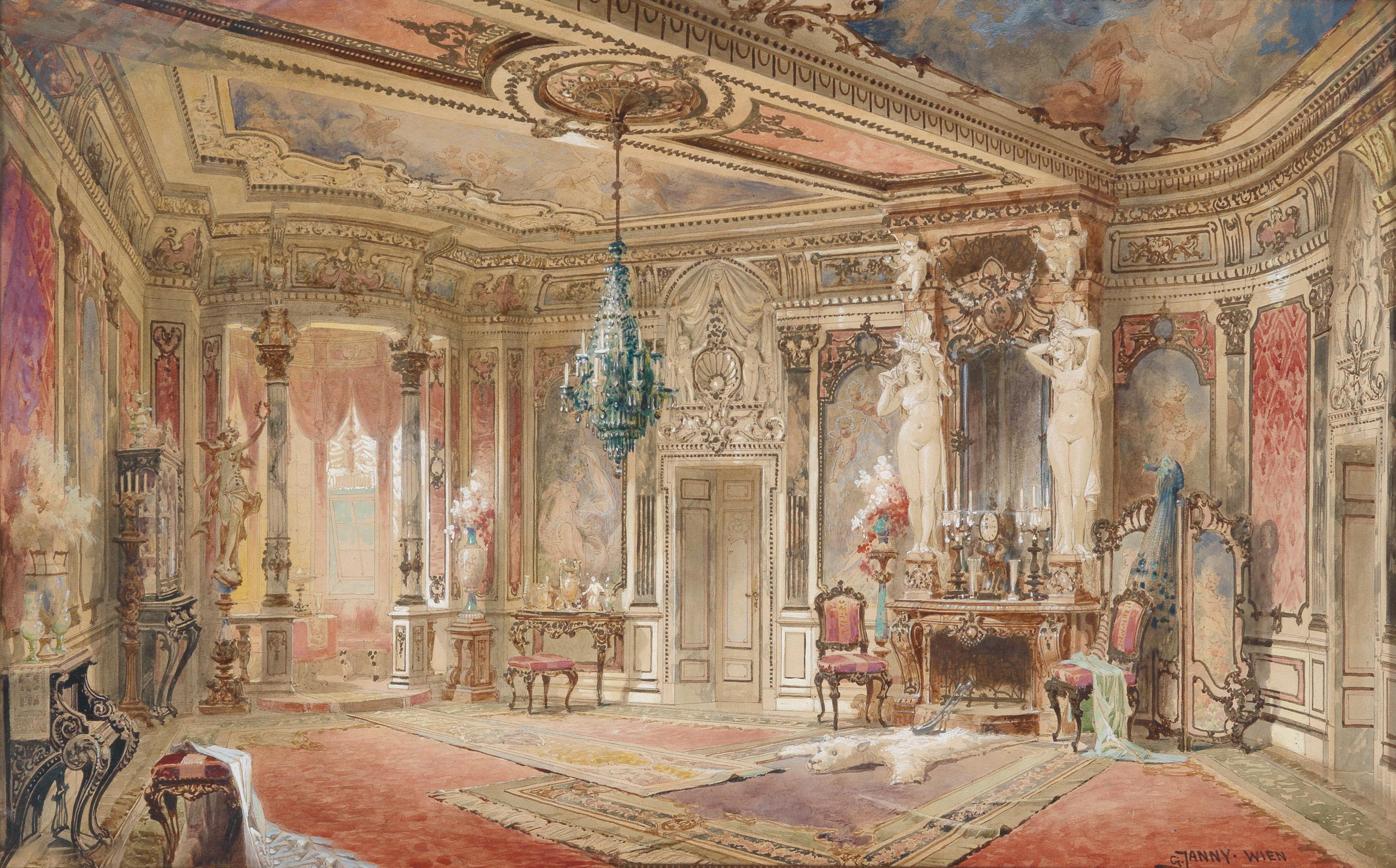 File:Georg Janny Salon im Makartstil.jpg - Wikimedia Commons