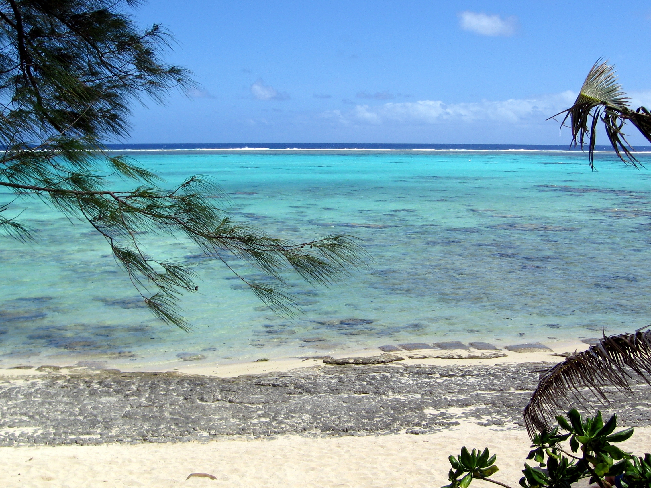 Rarotonga Cook Islands  city pictures gallery : ... Good snorkelling spot, Rarotonga, Cook Islands Wikimedia Commons