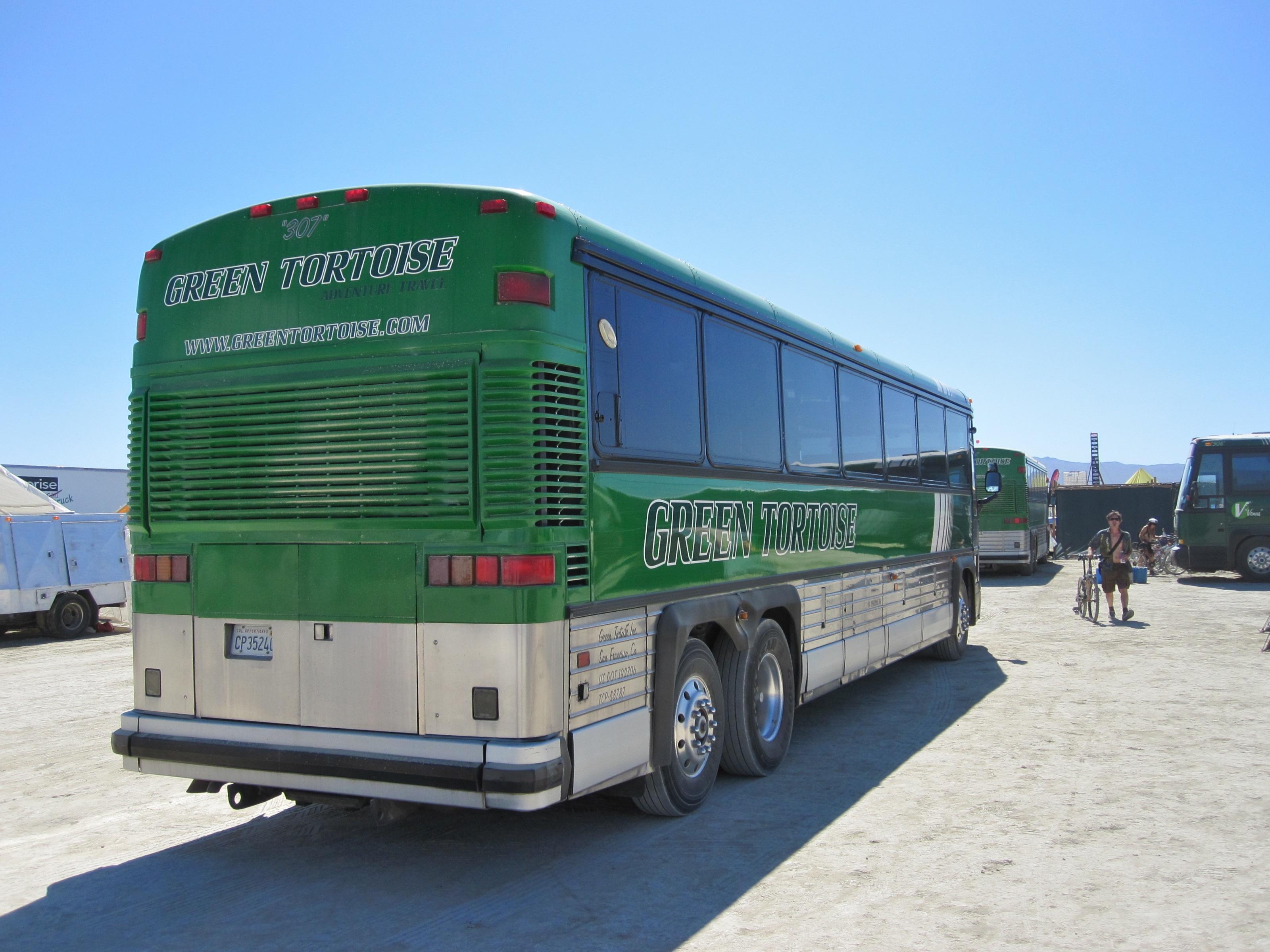 Golden Tours Bus Route