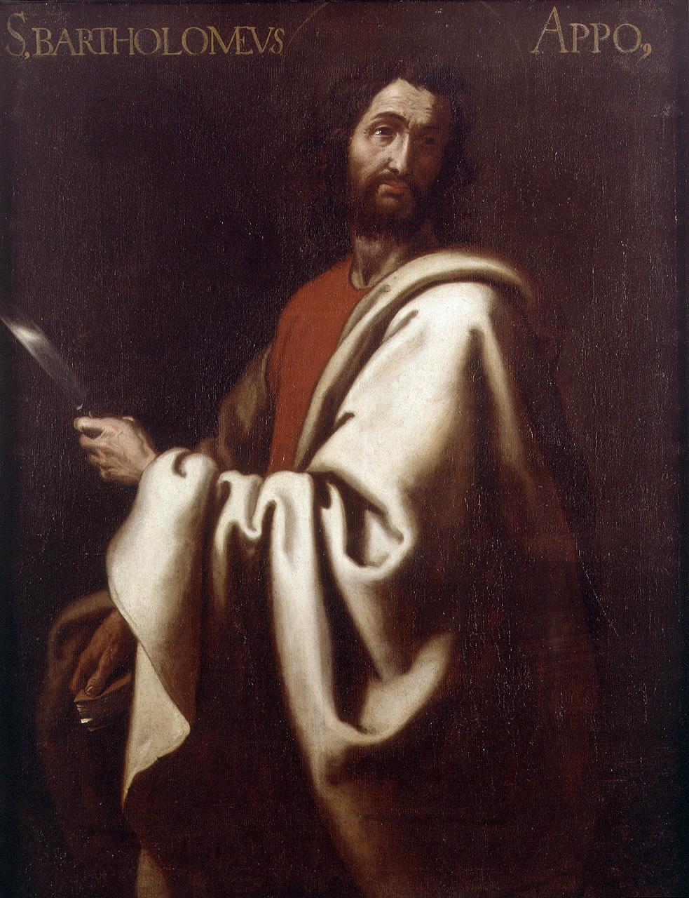 Resultado de imagen de Bartolomé apostol
