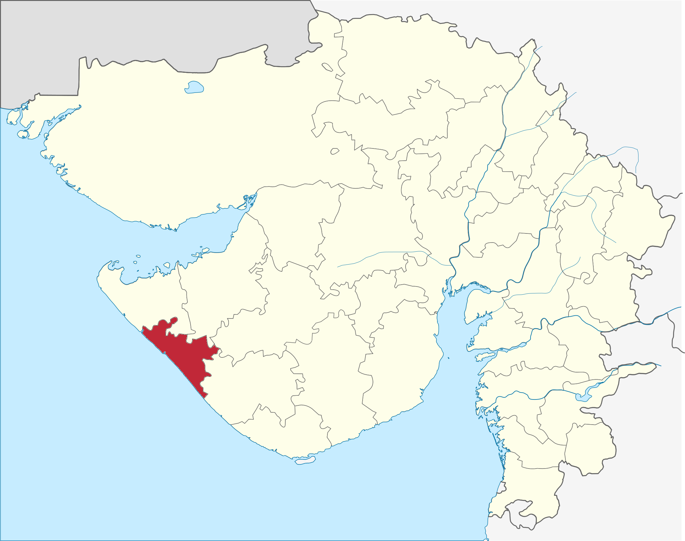 Porbandar district   Wikipedia