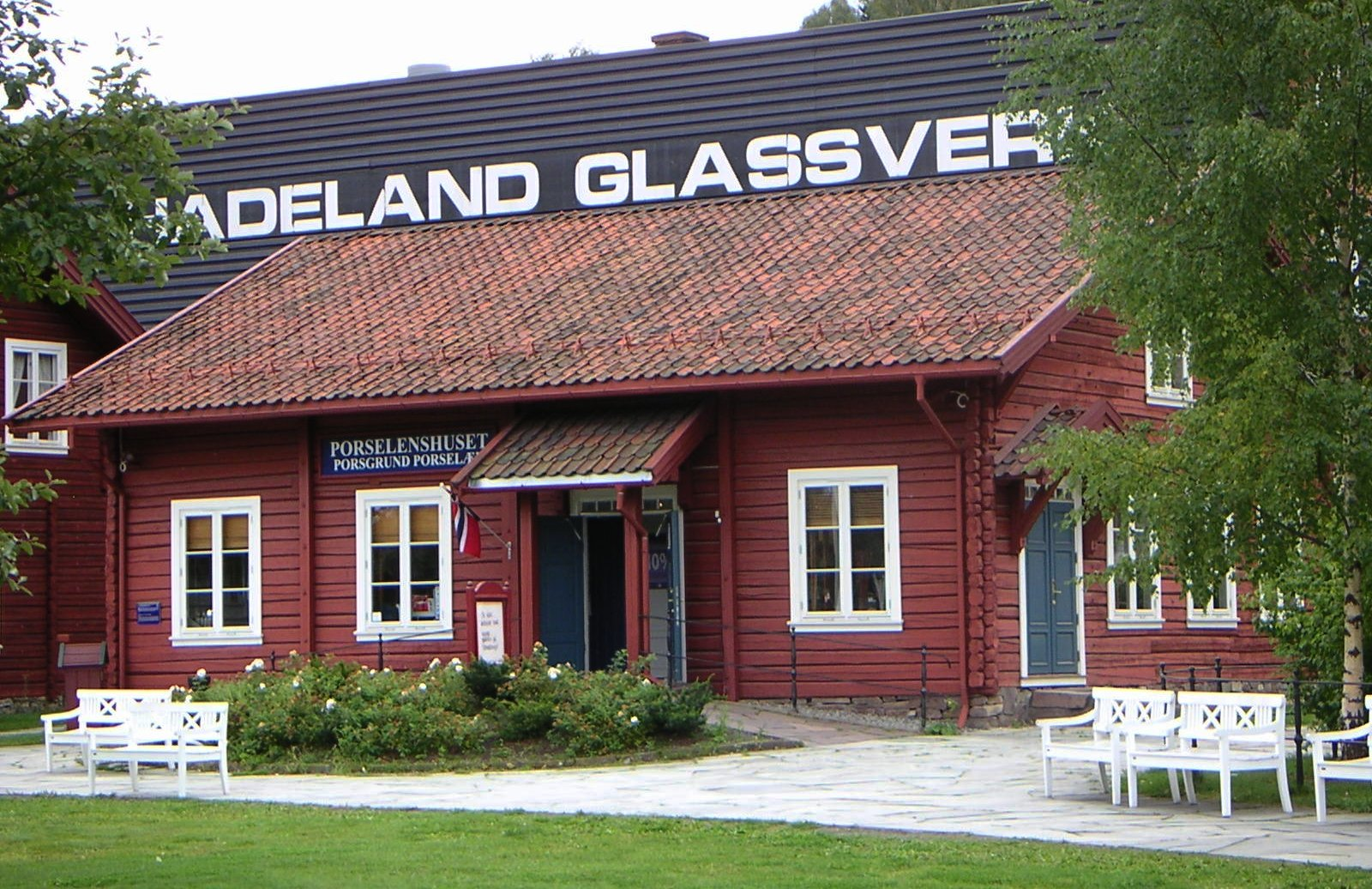 Hadeland Glassverk in Norway