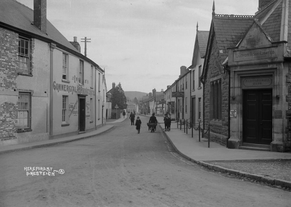 Hereford St. Presteign early 1900s