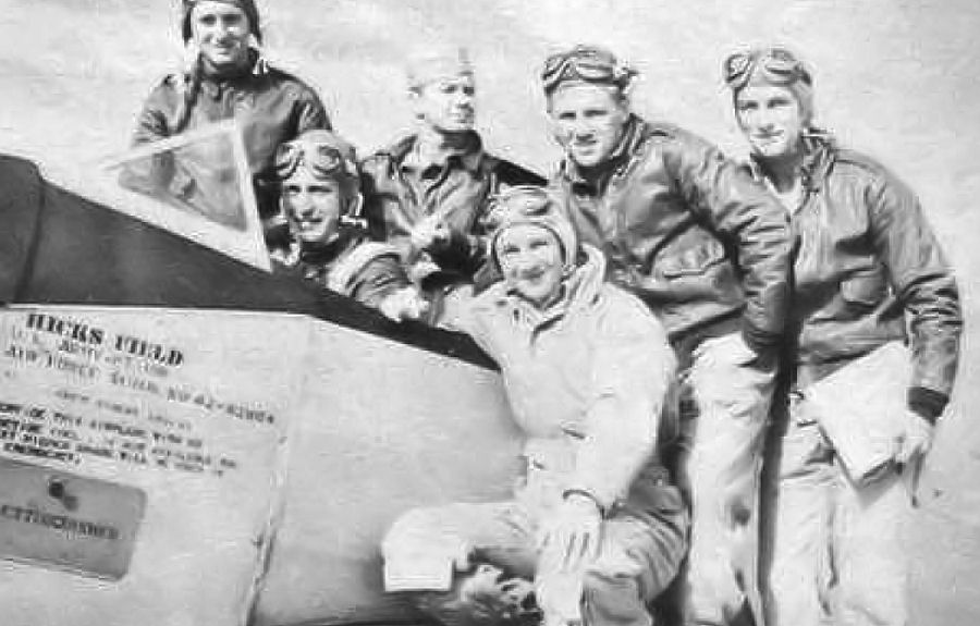 File:Hicks Field - Fairchild PT-19 Cadets with Instructor jpg