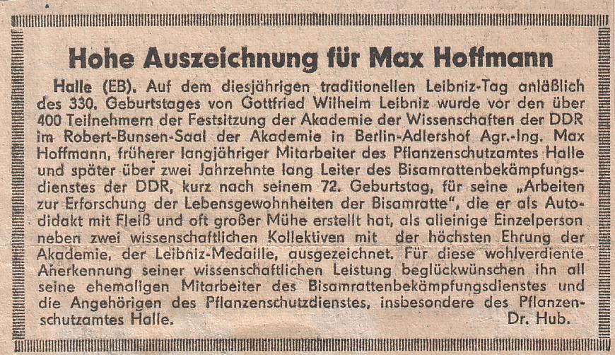 file hohe auszeichnung f r max hoffmann bisam experte wikimedia commons. Black Bedroom Furniture Sets. Home Design Ideas