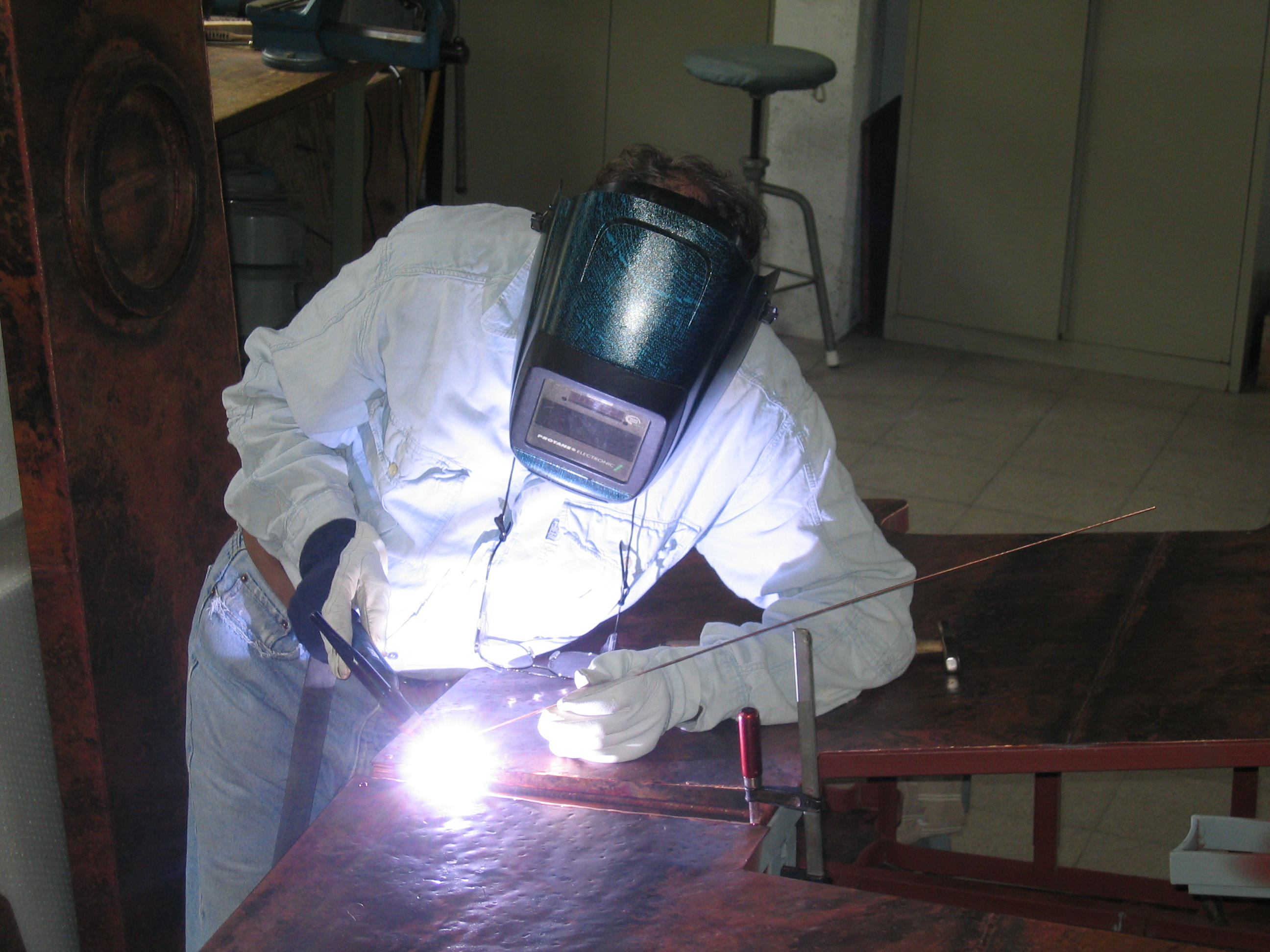Guy Gas Welding