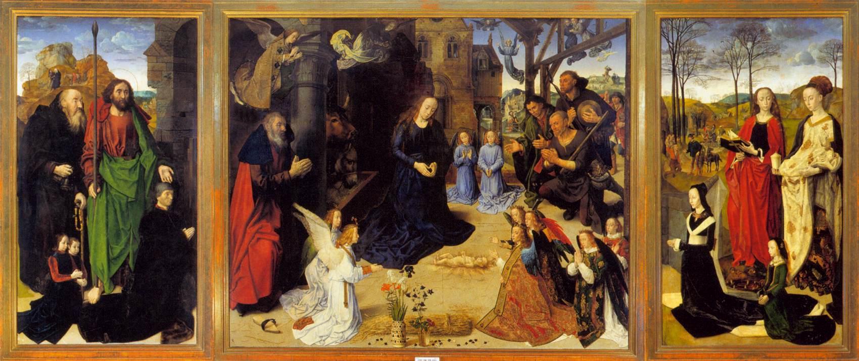 portinari altarpiece by hugo van der goes