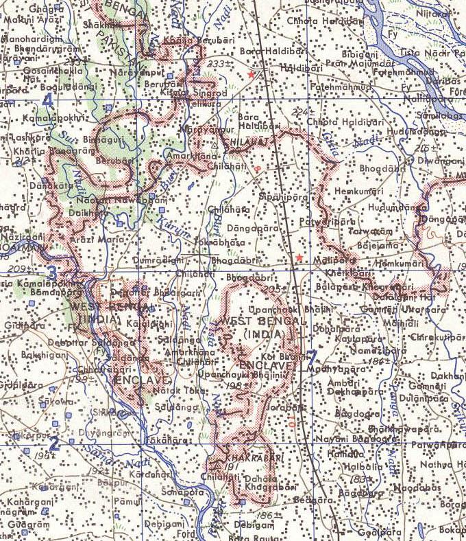 India Bangladesh border US Army Map Service.jpg