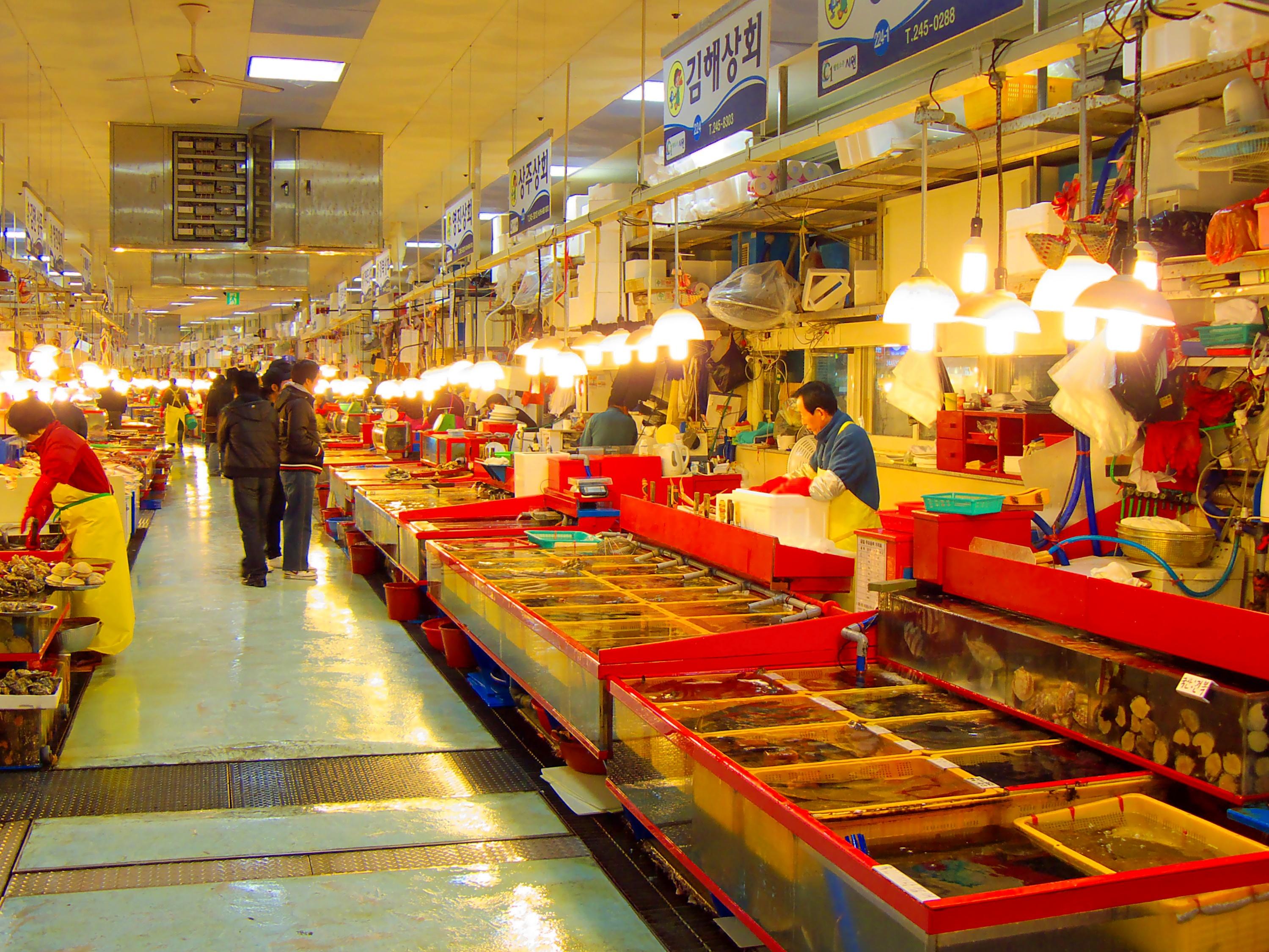 File:Jagalchi Market, Busan, South Korea.jpg - Wikimedia Commons