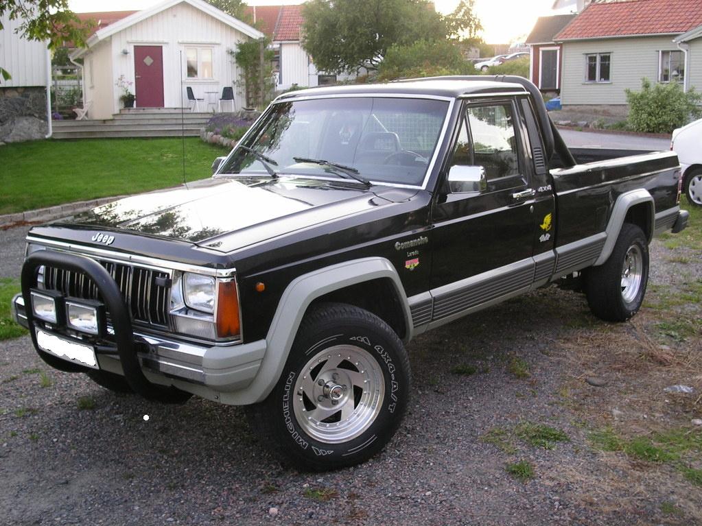 File Jeep Comanche Laredo Longbed 1988 Jpg Wikipedia