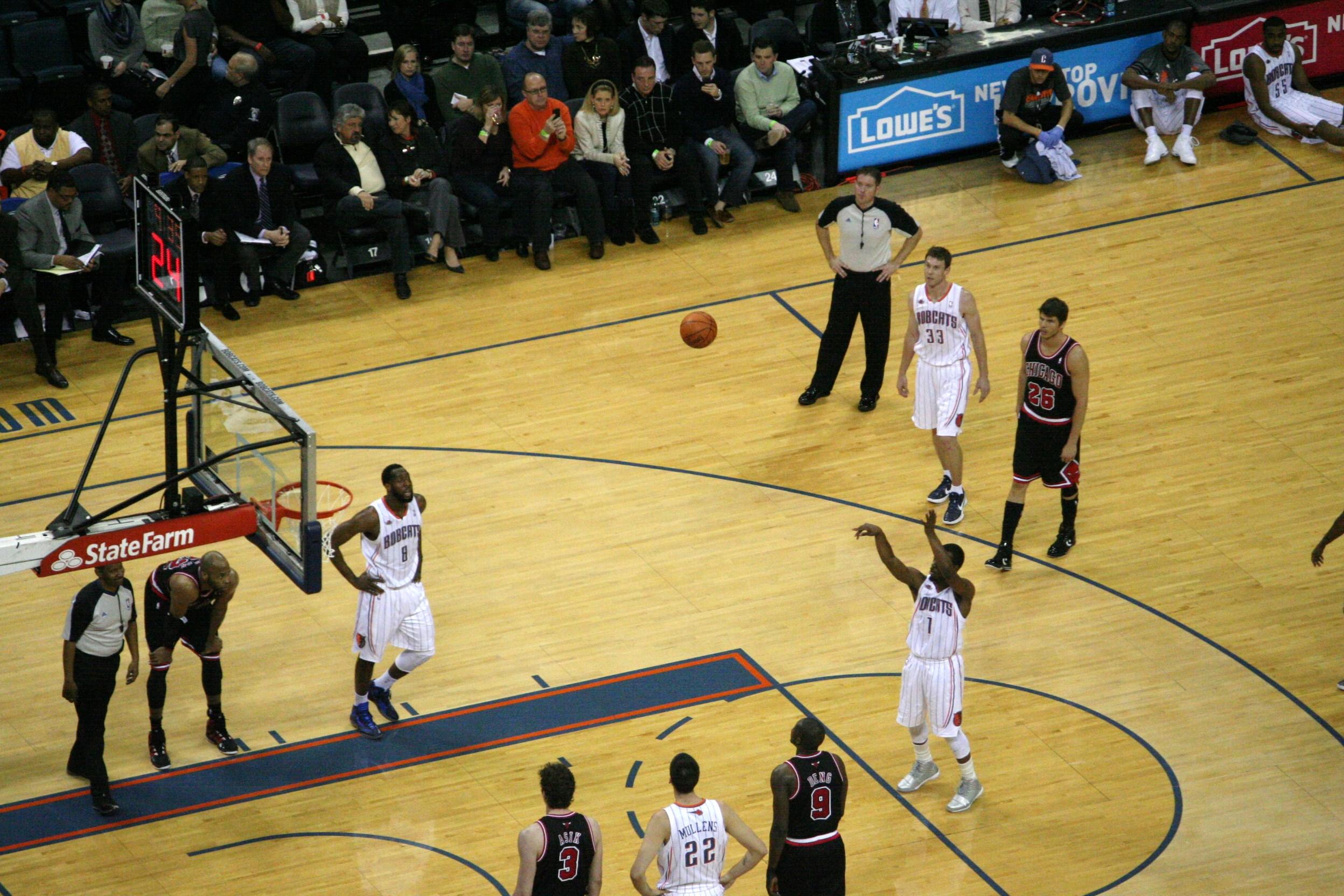 File:Kemba Walker free throw Bobcats.jpg - Wikimedia Commons