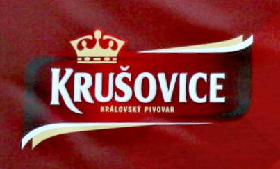 Krušovice pivovar logo - cseh sör