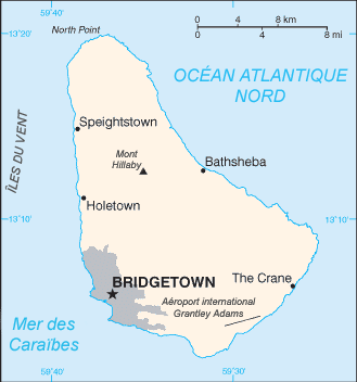 Barbados dans Bô Kay nou La_Barbade_carte
