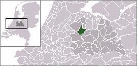 Nieuwer-Ter-Aa Village in Utrecht, Netherlands