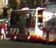 Lothian Buses bus Volvo B7RLE Wrightbus Eclipse Urban Harlequin livery Route 22 branding half side advert.jpg