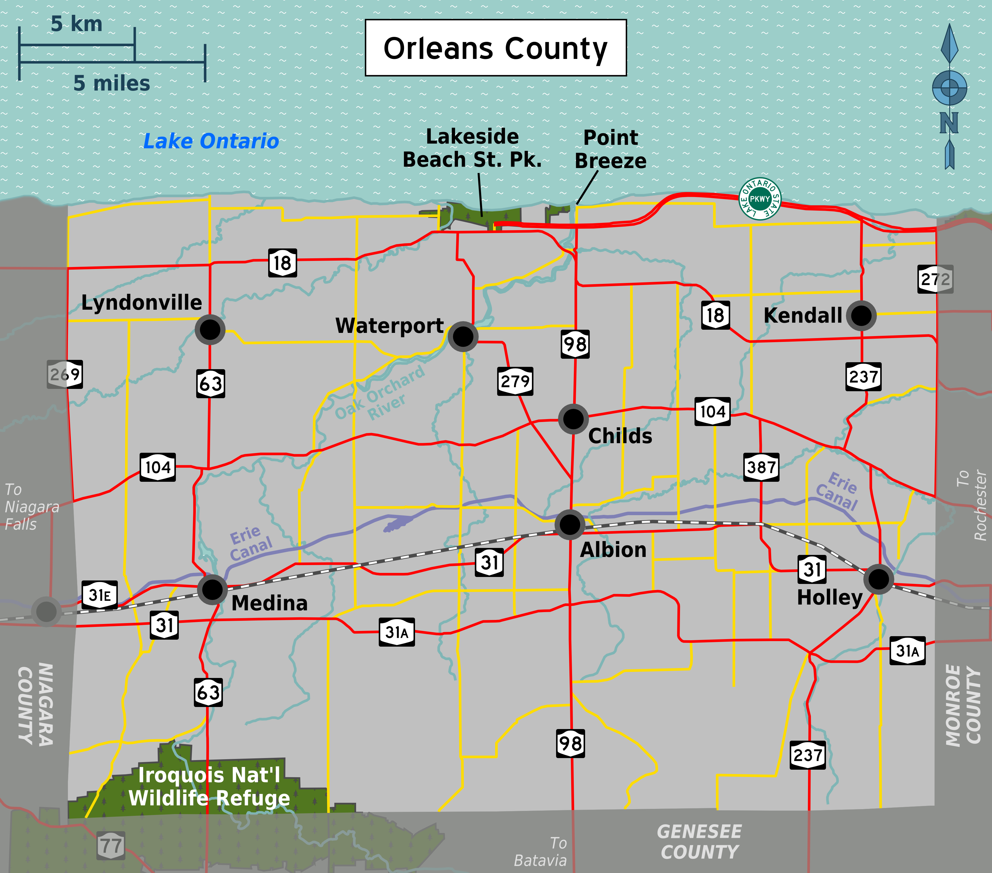 New york orleans county - File Map Orleans County Ny Png
