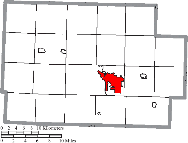 File Map Of Coshocton County Ohio Highlighting Coshocton City Png