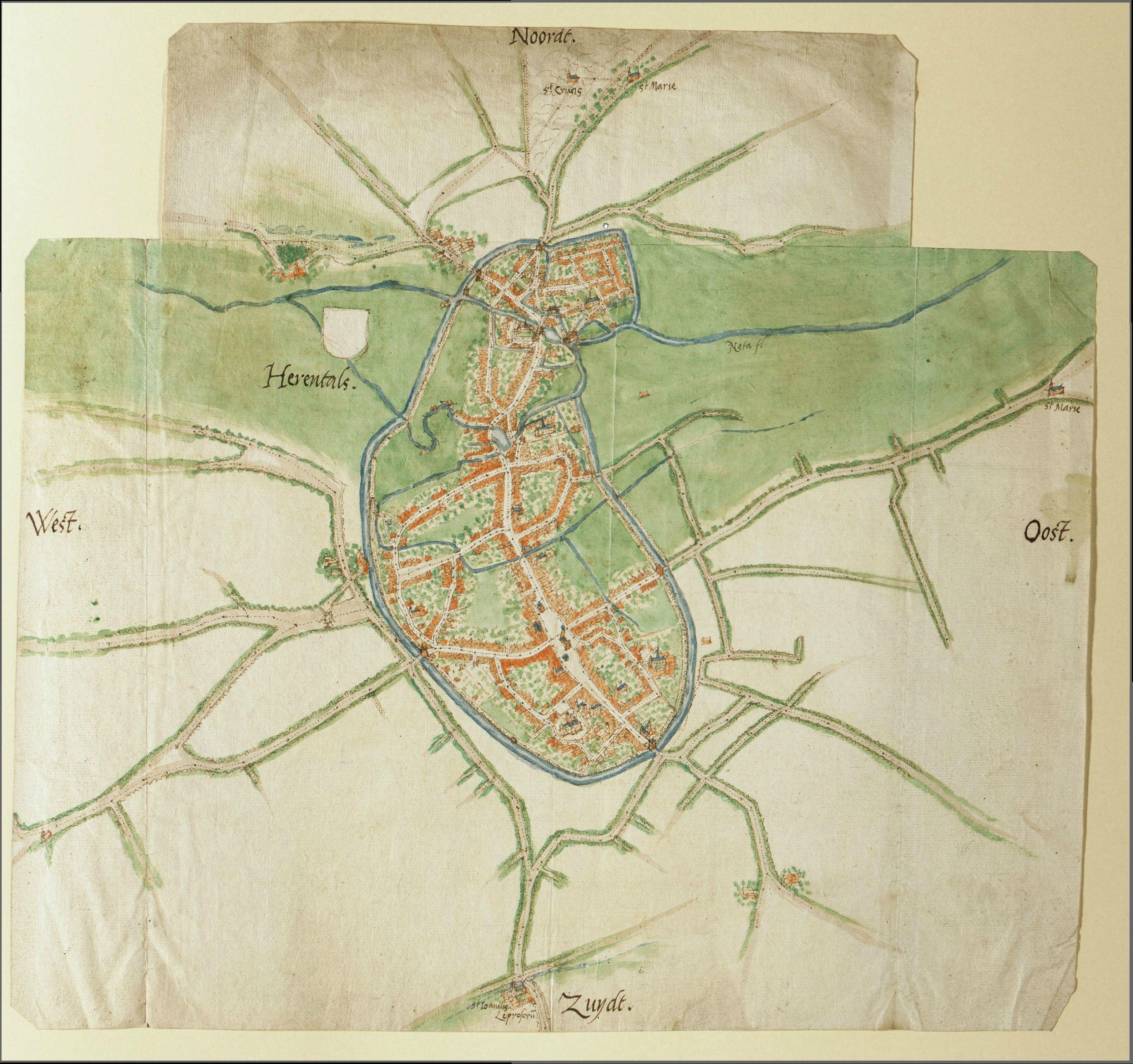 FileMap of Herentals by Jacob van Deventerjpg Wikimedia Commons